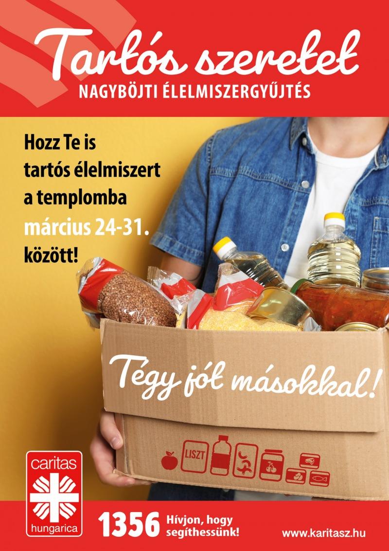 Tartós élelmiszer-gyűjtés